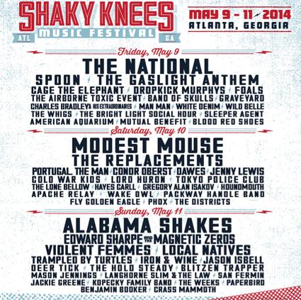 Shaky Knees Music Festival - Atlanta, GA
