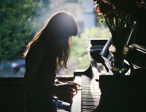 we heart it #piano