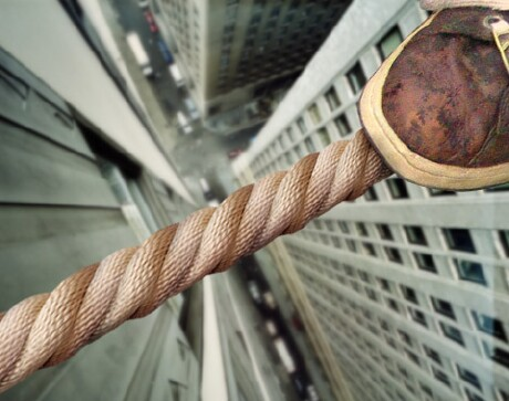 tightrope-walking